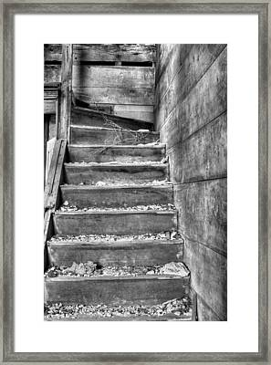 Upstairs  Framed Print by JC Findley