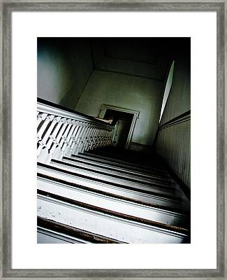 Upstairs Framed Print