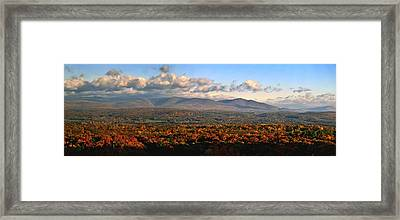 Upstate Ny Panorama Framed Print