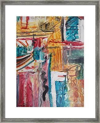 Upsy Downsie Framed Print