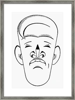 Upton Beall Sinclair Framed Print