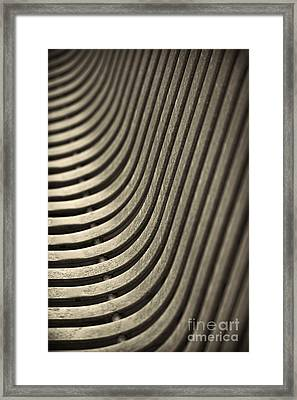 Upward Curve. Framed Print by Clare Bambers