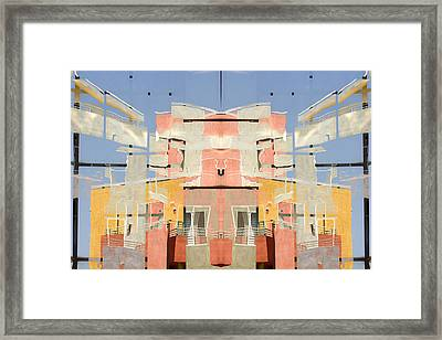 Urban Abstract San Diego Framed Print