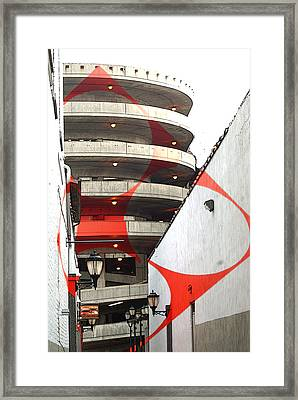 Urban Art - Architecture Framed Print