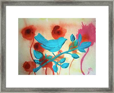Urban Bird Framed Print