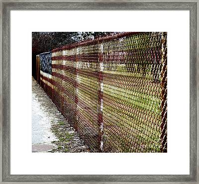 Urban Canvas Framed Print by Luke Moore