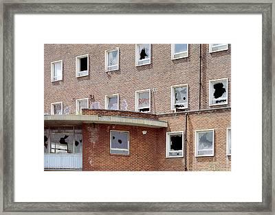 Urban Decay Framed Print by Victor De Schwanberg