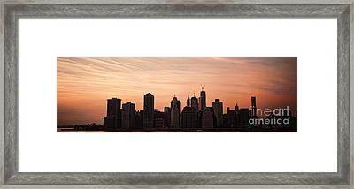 Urban Dreaming Framed Print