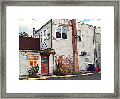 Urban Gardening Framed Print by MJ Olsen
