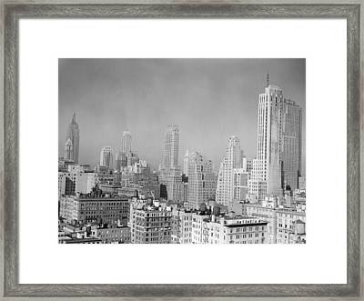 Urban Landscape/architecture Framed Print by George Marks