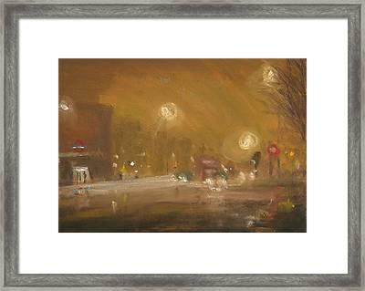 Urban Mist 1 Framed Print by Paul Mitchell