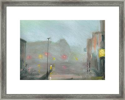 Urban Mist 2 Framed Print by Paul Mitchell