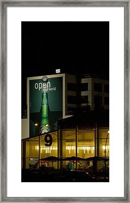 Urban Night Framed Print by Tal Richter