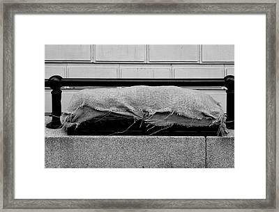 Urban Sarcophagus Framed Print by Robert Ullmann