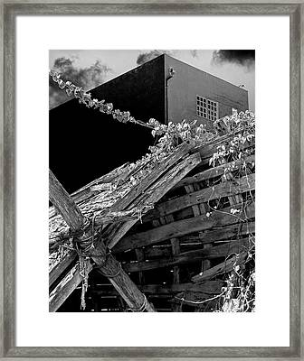 Urban Shipwreck Framed Print by James Rasmusson