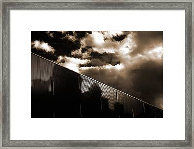 Urban Sky Framed Print by Anton Ishmurzin