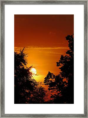Urban Sunrise Framed Print