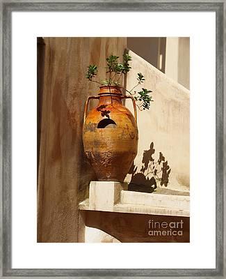 Urna D'italia Framed Print by Joyce Hutchinson