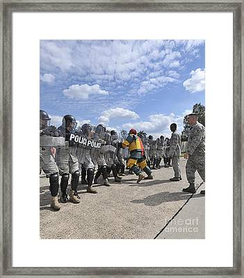U.s. Air Force 86th Security Forces Framed Print