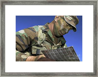 U.s. Air Force Lieutenant Reviews Framed Print by Stocktrek Images