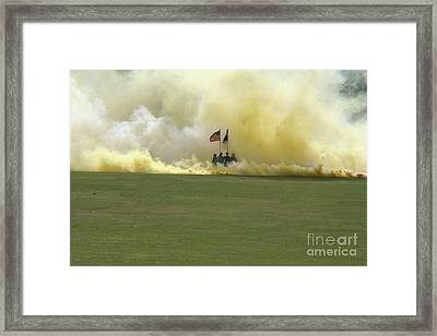 Framed Print featuring the photograph Us Army Graduation by Michael Waters