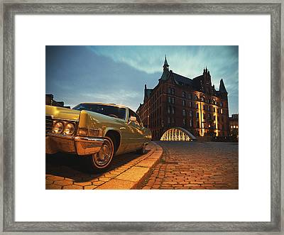 Us Car II Framed Print by Nina Papiorek