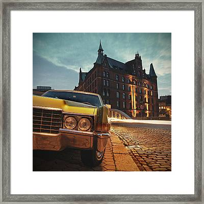 Us Car Framed Print by Nina Papiorek