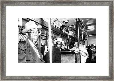 Us Civil Rights. Foreground, From Left Framed Print by Everett