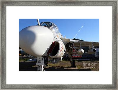 Us Fighter Jet Plane . 7d11232 Framed Print by Wingsdomain Art and Photography