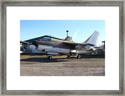 Us Fighter Jet Plane . 7d11239 Framed Print by Wingsdomain Art and Photography