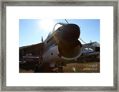 Us Fighter Jet Plane . 7d11296 Framed Print by Wingsdomain Art and Photography
