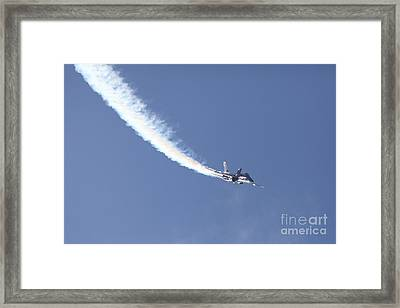 Us Navy Blue Angels - 5d18976 Framed Print