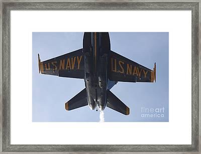 Us Navy Blue Angels - 5d18994 Framed Print