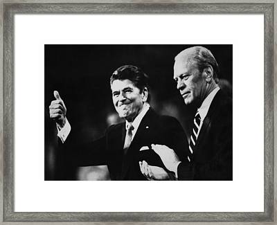 Us Presidents. Republican Party Nominee Framed Print by Everett