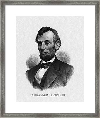Us Presidents. Us President Abraham Framed Print