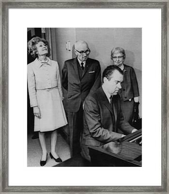Us Presidents.  Us President Richard Framed Print by Everett