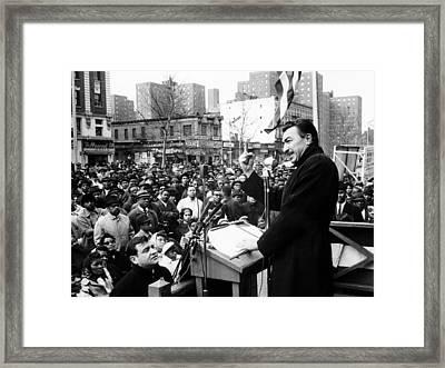 U.s. Representative From New York Framed Print