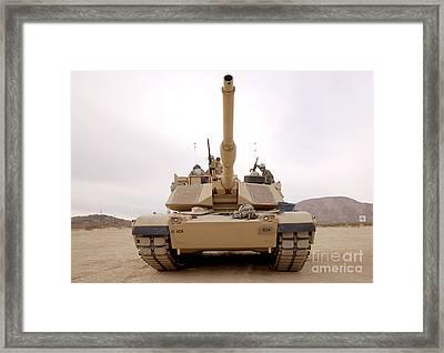 U.s. Soldiers Perform Maintenance Framed Print by Stocktrek Images
