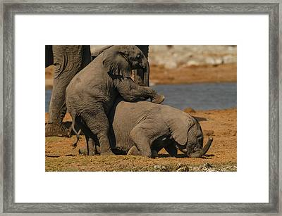 Us Together Framed Print