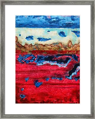 Usa In Decay Framed Print by David Raderstorf