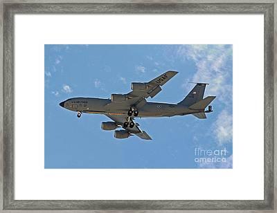 Usaf Kc-135 Air Tanker Framed Print by Kenny Bosak