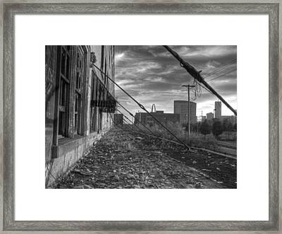 Usa's Most Dangerous City Framed Print