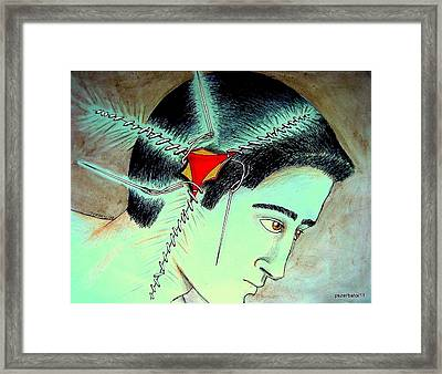 Use Learn Meaning Framed Print by Paulo Zerbato