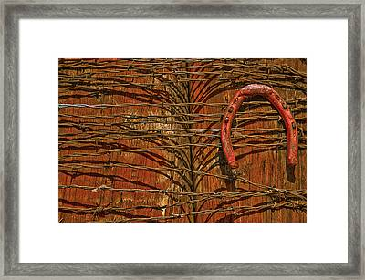 Used.9573 Framed Print by Gary LaComa
