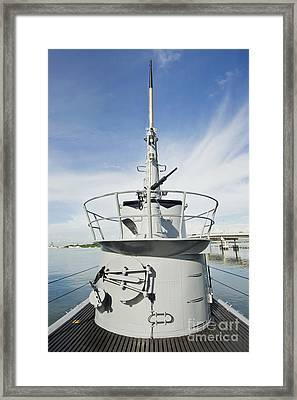 Uss Bowfin Framed Print by Rob Tilley