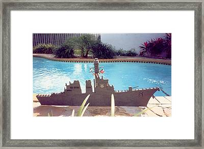 Uss Ramage Framed Print