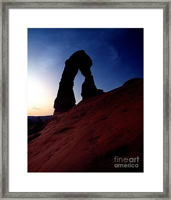 Utah - Delicate Arch 3 Framed Print by Terry Elniski