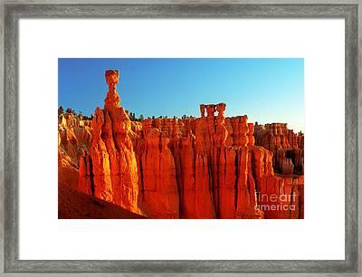Utah - Thor's Hammer 3 Framed Print by Terry Elniski