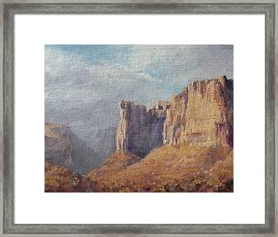 Utah  Framed Print by Mia DeLode