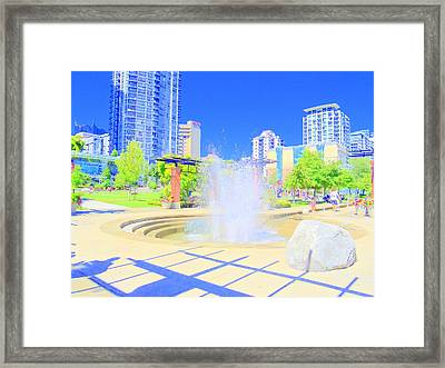 Utopian City Framed Print by Randall Weidner